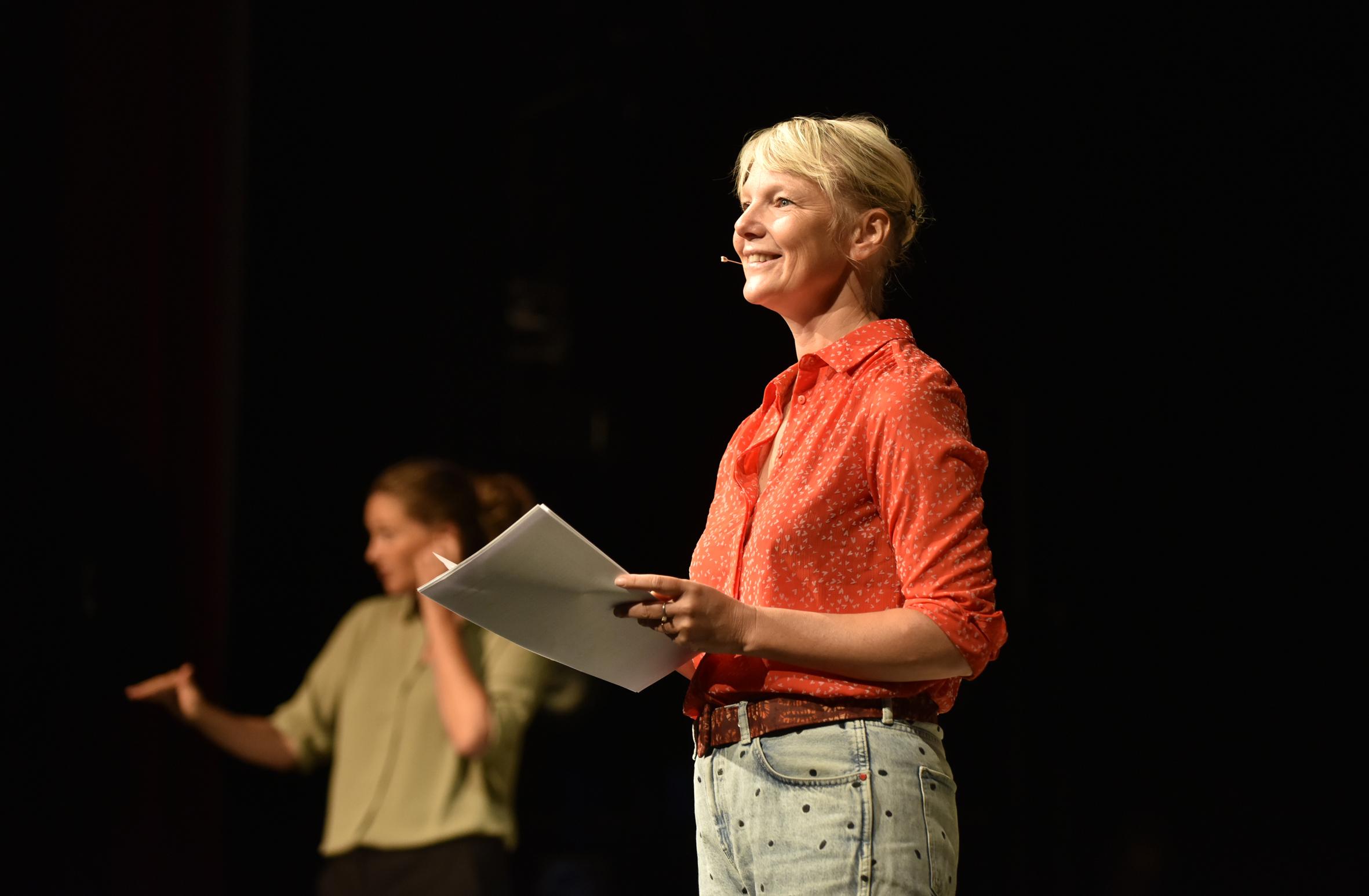 Theatermaker Laura van Dolron geeft een vervolg op haar Staat van het Theater